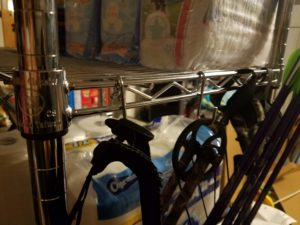 Hooks Increase Storage